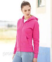 Толстовка женская Lady-Fit  Hooded Sweat Jacket, фото 3