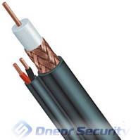 Комбинированный кабель наружный RG-59(медь)+2х0,5- 305м.