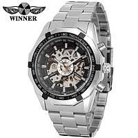 Мужские механические часы с автоподзаводом Winner, фото 1