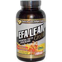 Labrada Nutrition, EFA Lean Gold, смесь незаменимых жирных кислот, 180 мягких капсул