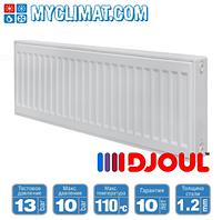 Радиаторы стальные Djoul 22 тип 300x1100 (1318 Bт)