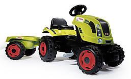 Трактор педальный с прицепом Smoby 710114 FARMER XL . Машинка для детей