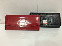 """Кошелек женский кожаный лаковый """"Chanel пряжка"""", фото 1"""