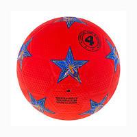 Мяч футбольный резиновый SIMPLE STARS №4 FR4-370/16