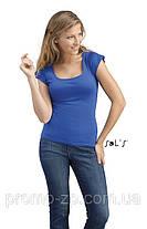 Женская футболка с американской проймой Sol's Melrose, фото 3