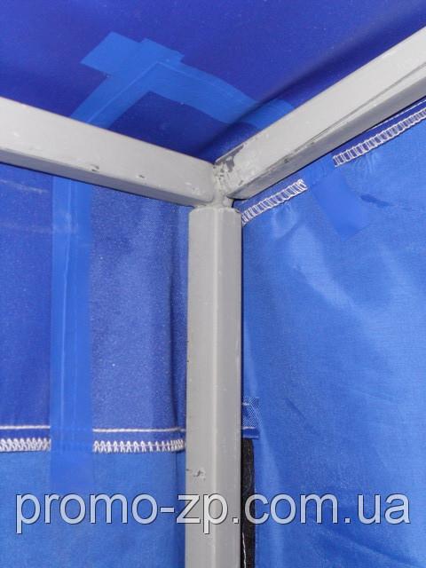Проклейка швов на тенте торговой палатки 2х2 м.