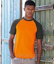 Футболка мужская Short Sleeve Baseball T, фото 2
