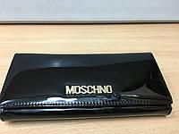 """Кошелек женский  лакированный """"moschino"""""""