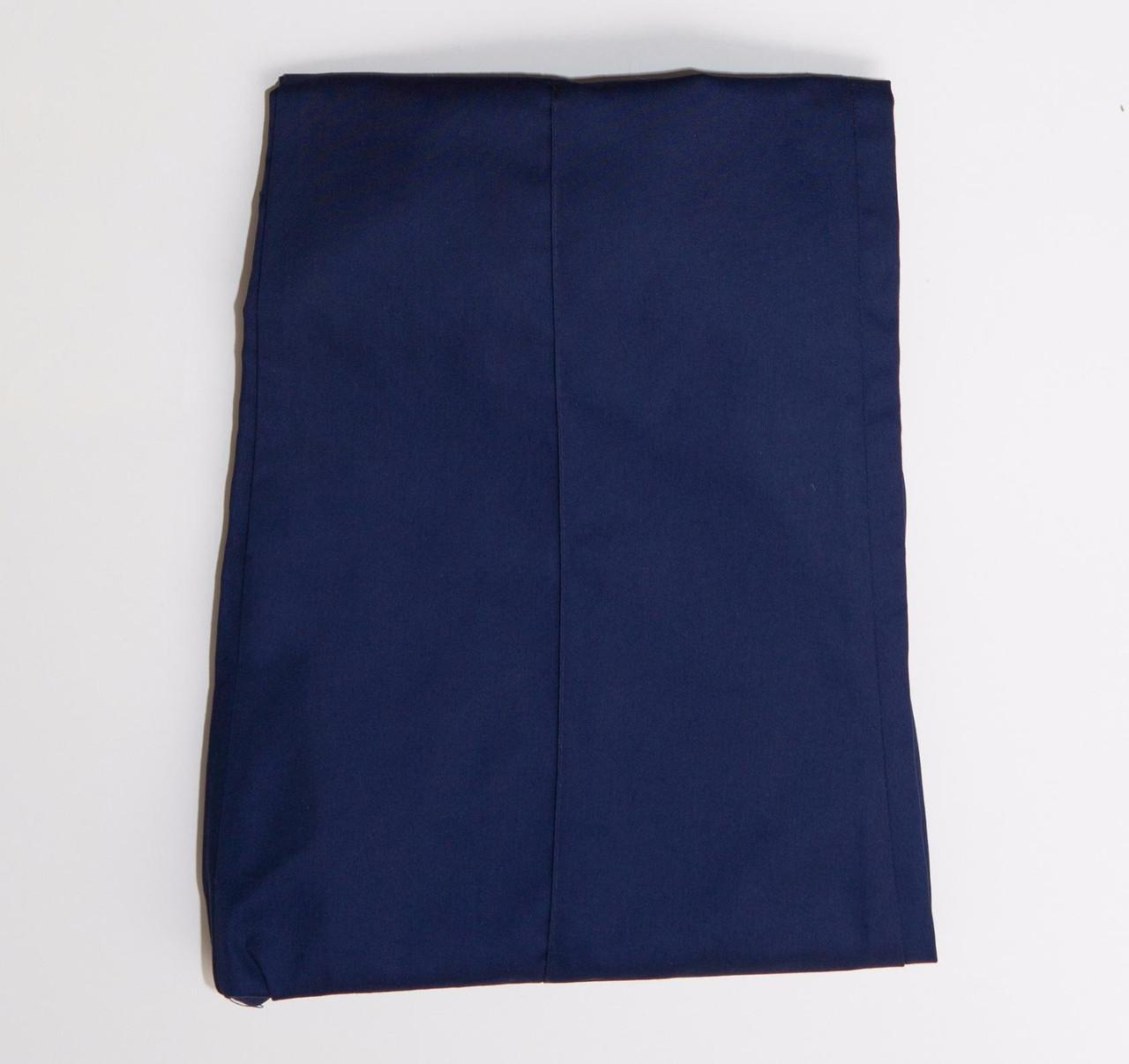 Синие коттоновые медицинские брюки