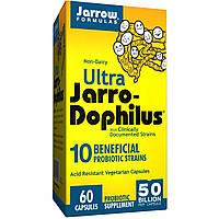 Jarrow Formulas, Пробиотик Ultra Jarro-Dophilus, 60 вегетарианских капсул (Ice)