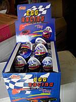 Шоколадное яйцо Egg Racing  24 шт