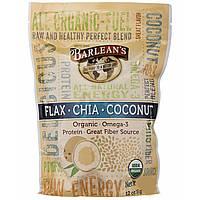 Barlean's, Raw Energy Flax-Chia-Coconut blend, 12oz pouch