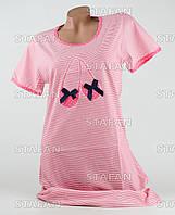 Женская ночная сорочка Турция. MORAL 01-2 M-R. Размер 46-48.