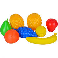 Набор пластиковых фруктов в сетке