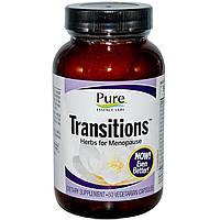 Pure Essence, Transitions, Растительный препарат для менопаузы, 60вегетарианских капсул