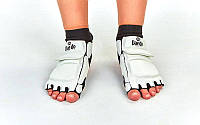 Защита стопы носки-футы для тхэквондо Daedo 2609: S/M