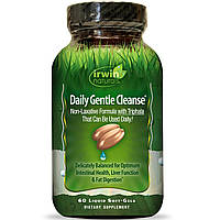 Irwin Naturals, Ежедневная мягкая очистка, 60 мягких капсул