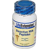 Life Extension, Биоактивные молочные пептиды, 30 капсул