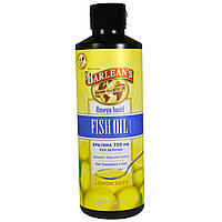 Barlean's, Omega Swirl, добавка рыбьего жира, со вкусом лимонной цедры, 16 унции (454 г)