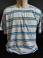 Полосатые футболки для мужчин купить оптом., фото 1
