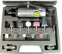 Пневматическая шлифмашинка с комплектом шарожек  (ПШ-1206)