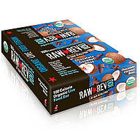 """Raw Revolution, Raw Rev 100, Органический батончик с """"живыми ингредиентами"""", Шоколадно кокосовое наслаждение, 0.8 унций (22 г)"""