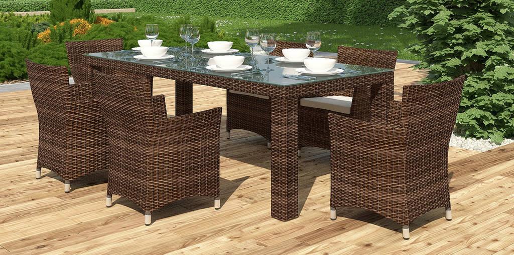 Комплект Orso  стіл 200см+6 крісел Condor