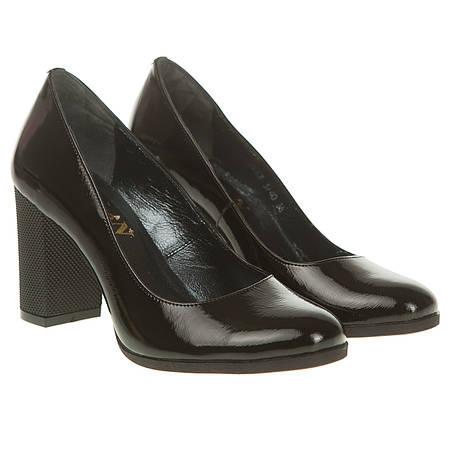 Туфли женские Скорпион (черные, на высоком каблуке, удобные, стильные,  классические) 006b59d93d9