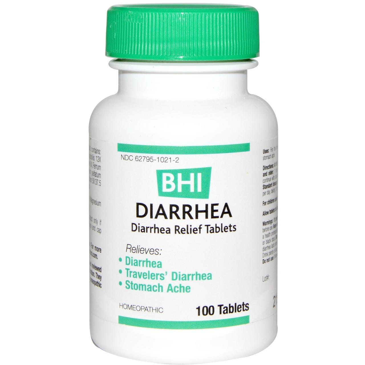 """MediNatura, BHI, средство от диареи, 100 таблеток - """"Лидa+"""" биодобавки, витамины, минералы по минимальным ценам.  в Киеве"""