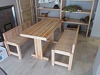 Стол и лавки для бани / сауны