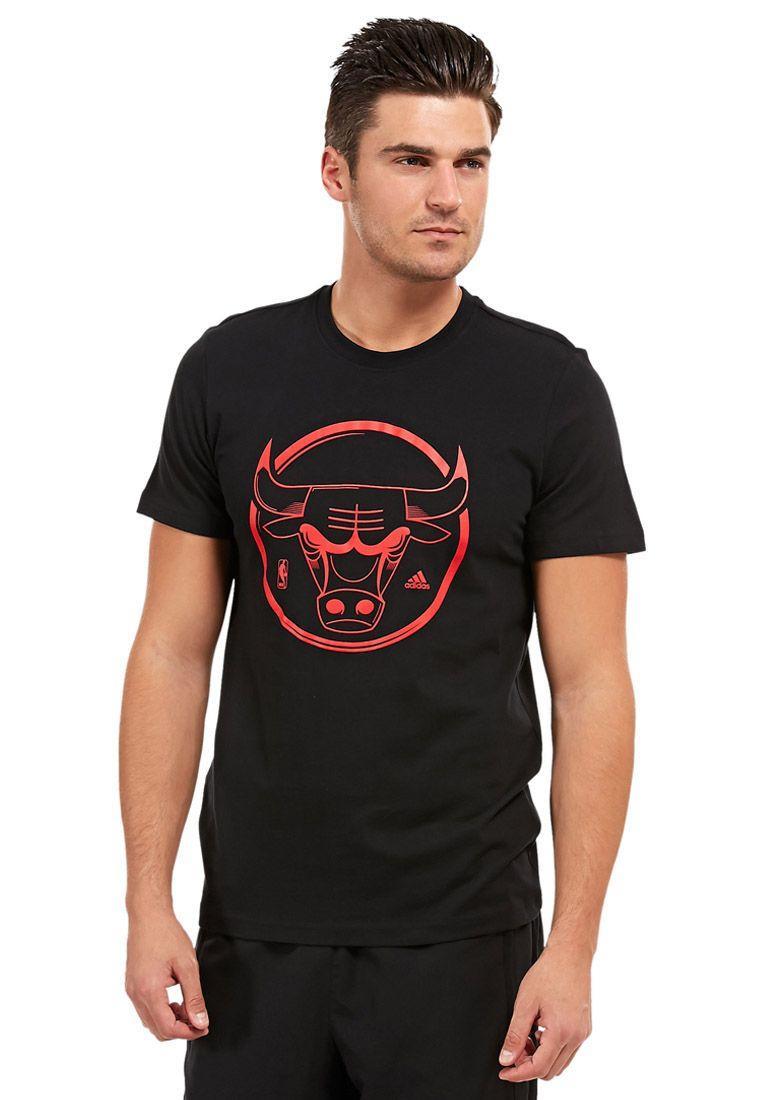 Футболка спортивная, мужская Adidas Chicago Bulls T-Shirt PRCPNT G78407 адидас
