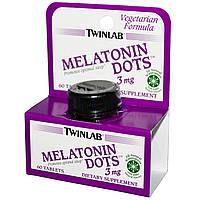 Twinlab, Мелатонин, 3 мг, 60 таблеток