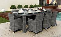 Комплект Orso Grey   стол 220см+6 кресел Condor