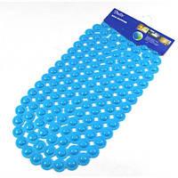 Коврик для ванной синий ВМ-022