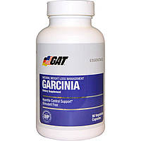 GAT, Essentials, гарциния, 90 вегетарианских капсул