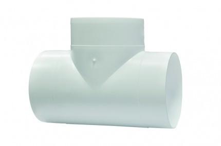 Тройник Т-образный для круглых каналов метал D 150 мм Эра