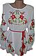 """Жіноча вишита сорочка (блузка) """"Яскраві лілії"""" (Женская вышитая рубашка (блузка) """"Яркие лилии"""") BN-0019, фото 4"""
