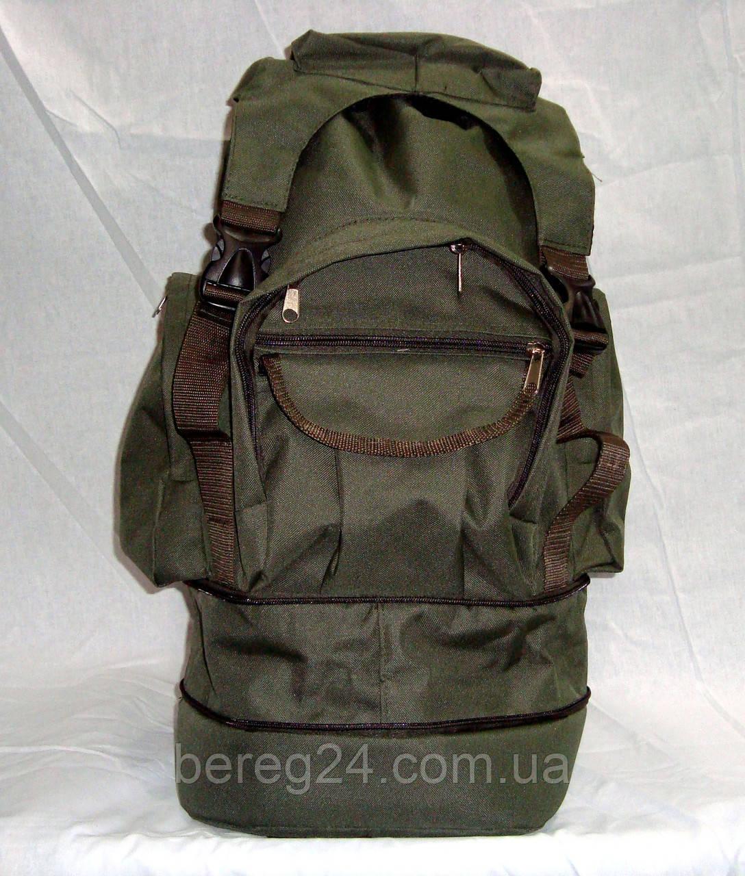Рюкзак тактический, зеленый хаки