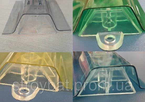 крепеж для прозрачного шифера