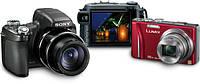 Ремонт цифровых фотоаппаратов и объективов.