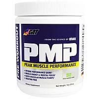 GAT, PMP, перед тренировкой, пиковая производительность мышц, зеленое яблоко, 9 унций (255 г)