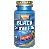Health From The Sun, Масло семян черной смородины, 500 мг, 90 мягких мини-капсул