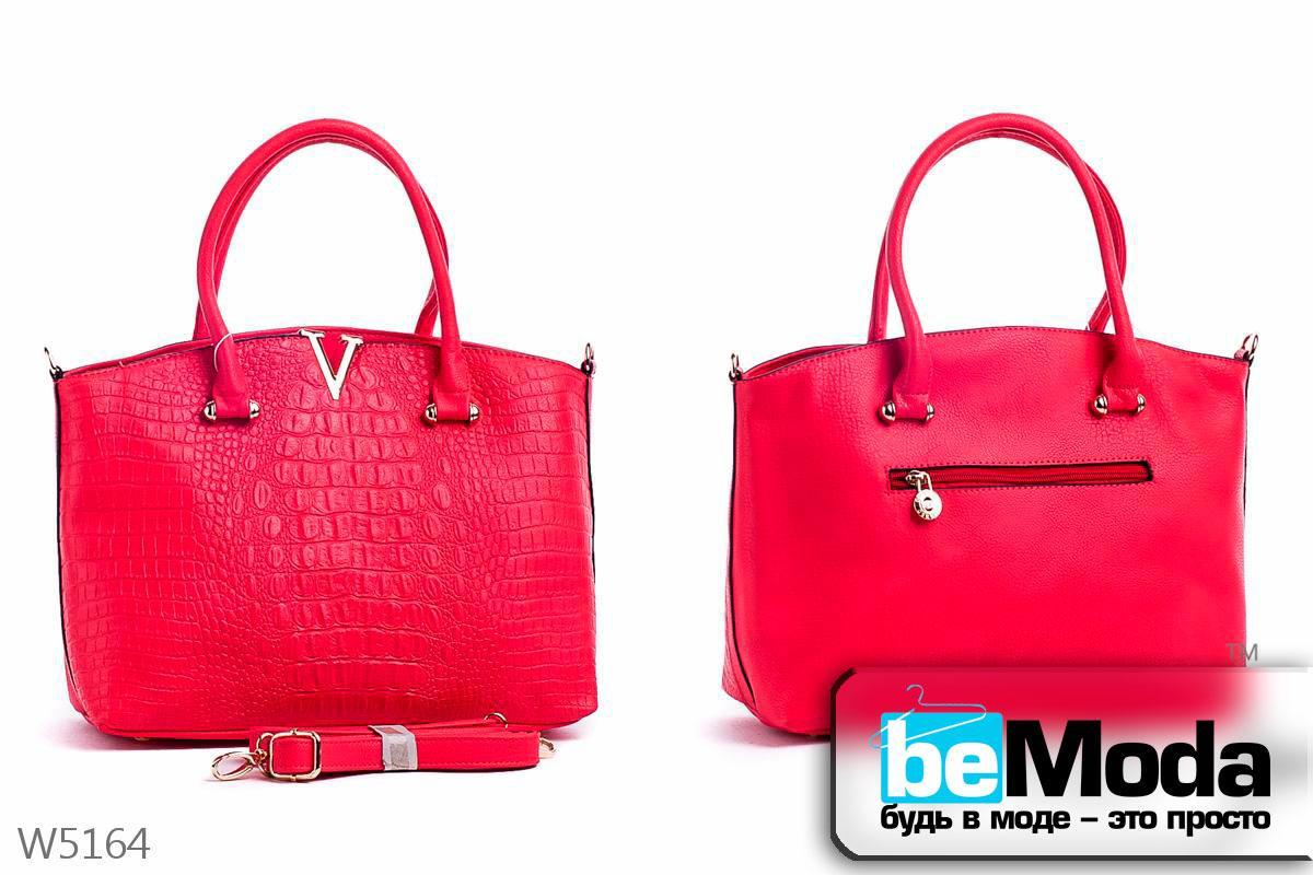 Стильная женская каркасная сумка Little Pegion RED из оригинальной экокожи с металлическим декором красная - Модная одежда, обувь и аксессуары интернет-магазин BeModa.com.ua в Белой Церкви