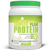 PlantFusion, Комплексный растительный белок, натуральный, 1 фунт (454 г)