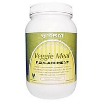 MRM, Растительный заменитель питания, ваниль и бобы, 3 фунта (1361 г)