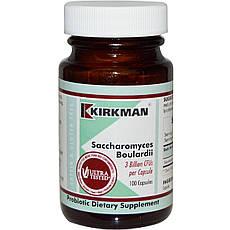 Kirkman Labs, Saccharomyces Boulardii, 3 мільярди, 100 капсул вегетаріанських