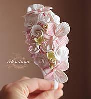 """Обруч/веночек с цветами """"Воздушная нежность"""", фото 1"""