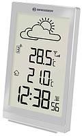 Компактная домашняя метеостанция TemeoTrend ST silver/серебро Bresser  923263.