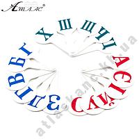 Веер УКРаинский от А до Я, белый,ТМ АТЛАС К-5374