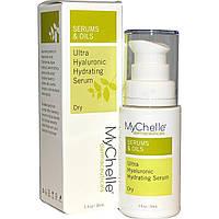 MyChelle Dermaceuticals, Ультраувлажняющая гиалуроновая сыворотка, для сухой кожи, шаг 3, 30 мл